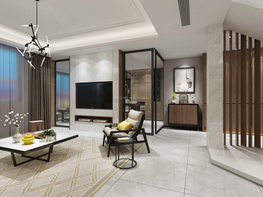 拓者设计吧现代室内大空间装修效果图图片