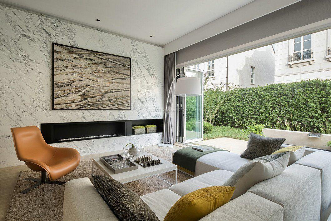 拓者设计吧现代客厅家具装修效果图图片