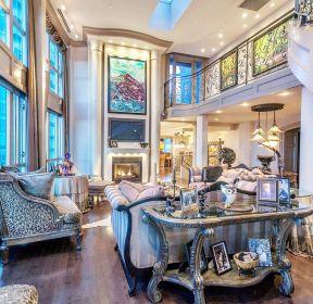 高檔房子復式客廳裝修圖-每日推薦