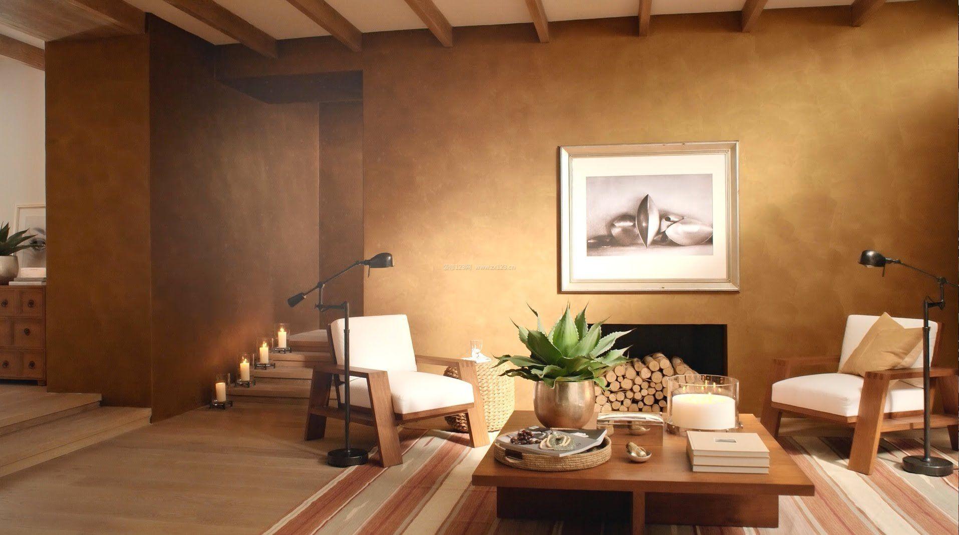 客厅墙面漆颜色装饰效果图