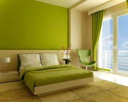 時尚臥室墻面漆顏色效果圖片