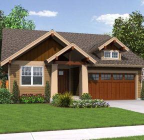 農村自建平房庭院設計效果圖-每日推薦