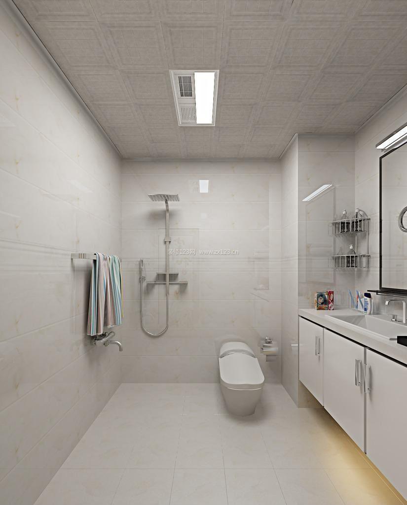 小户型卫生间吊顶装修图片