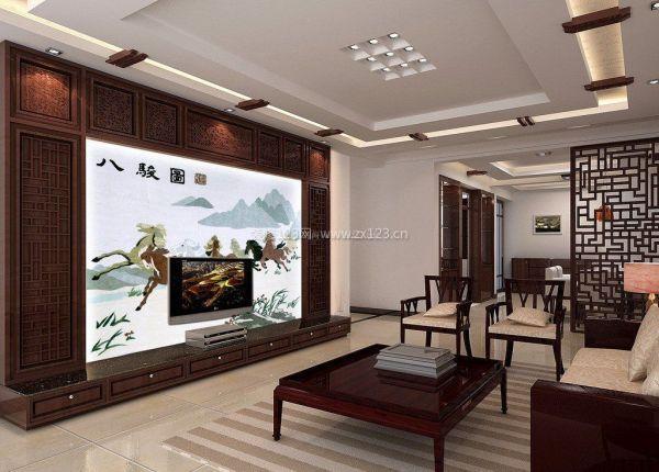 客厅石膏板吊顶图片