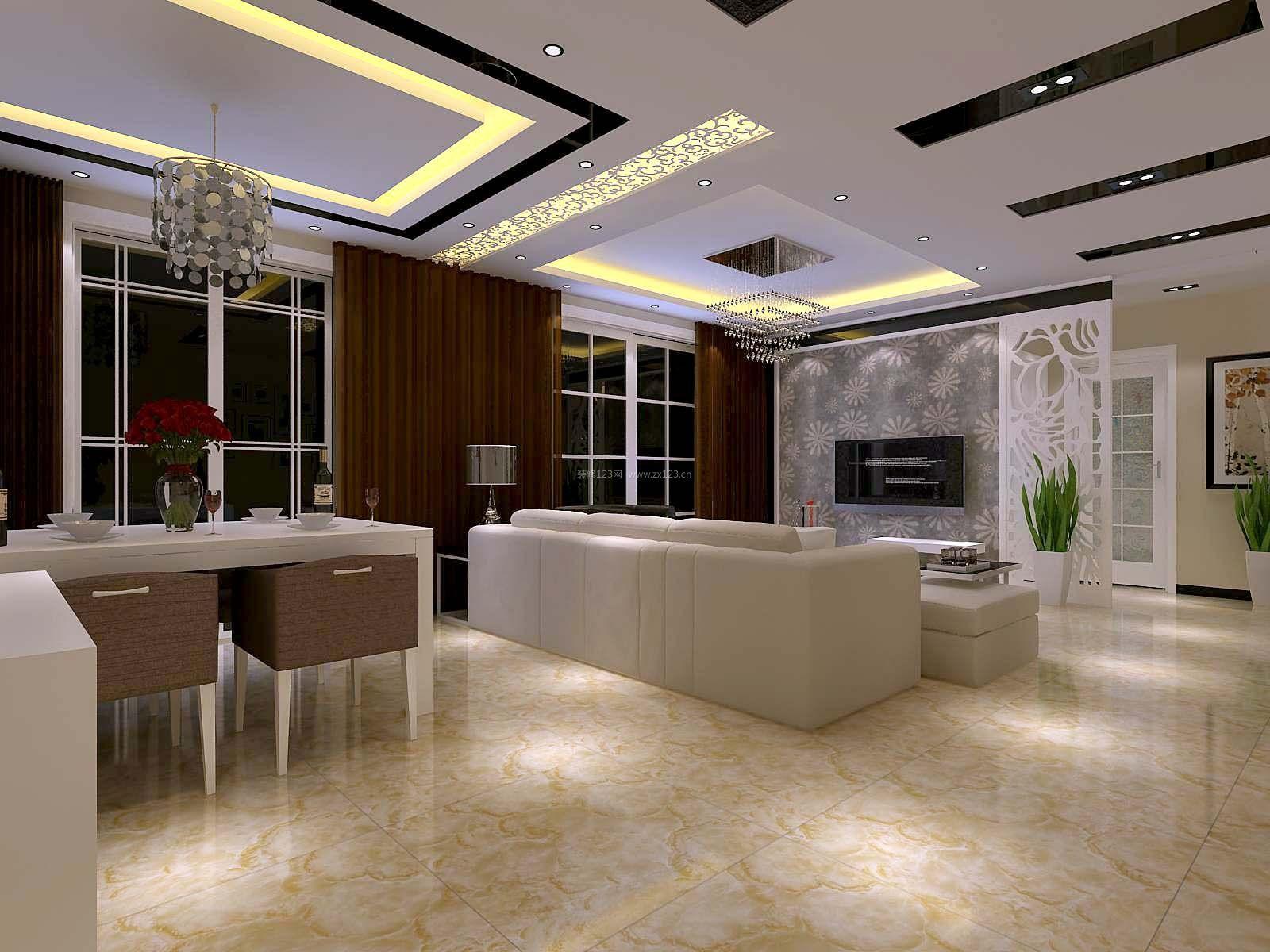 120平方大户型房屋样板房装修图片赏析