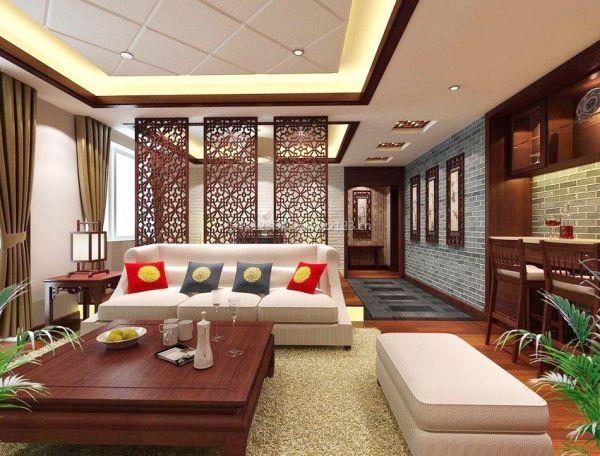 新中式客厅吊顶设计图片图片