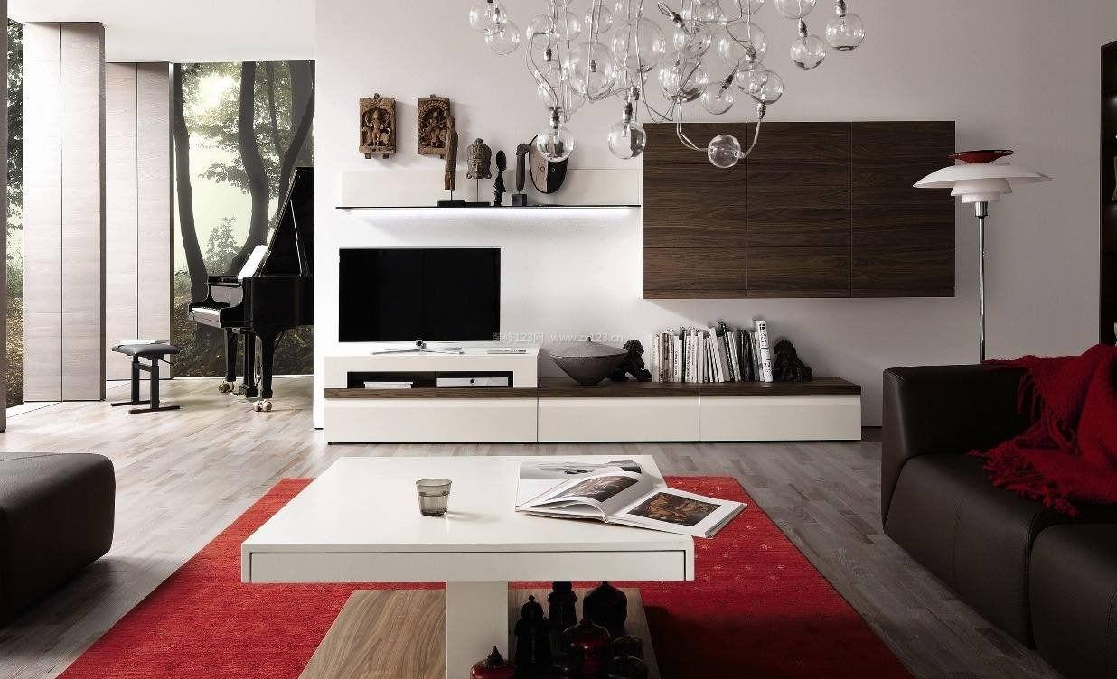 现代风格电视柜装修效果图图片大全