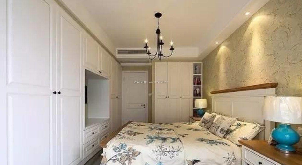 长方形卧室大衣柜装修效果图图片