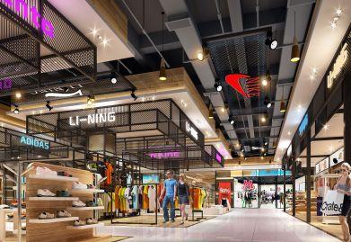 天霸设计在注重咸宁商业街设计方案创新性的同时不忽略可行性