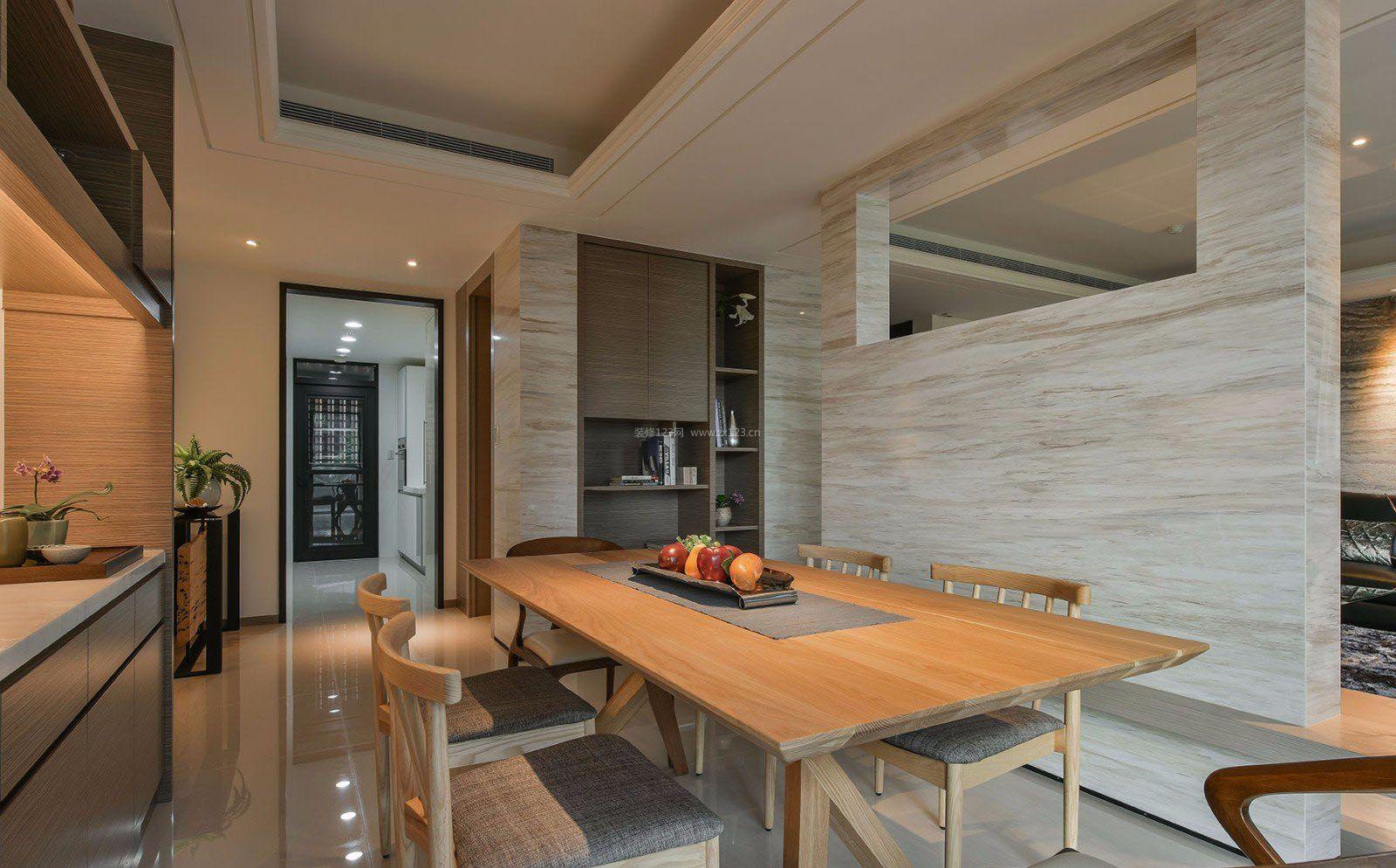 60平米房子室内餐厅装修效果图大全