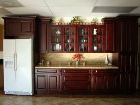 歐派實木櫥柜圖片