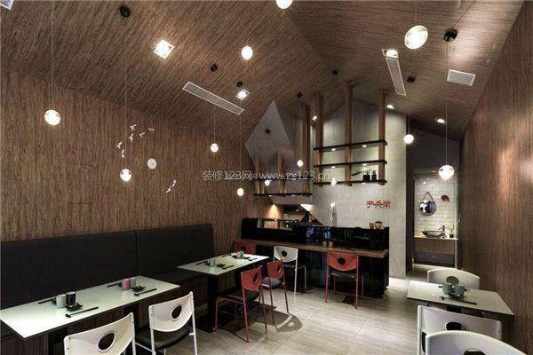 杭州小吃小吃装修门面饭馆门面装修比较好小技巧6o平米装修图图片