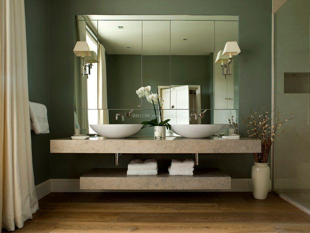 洗手间洗手盆大理石台面设计图片图片