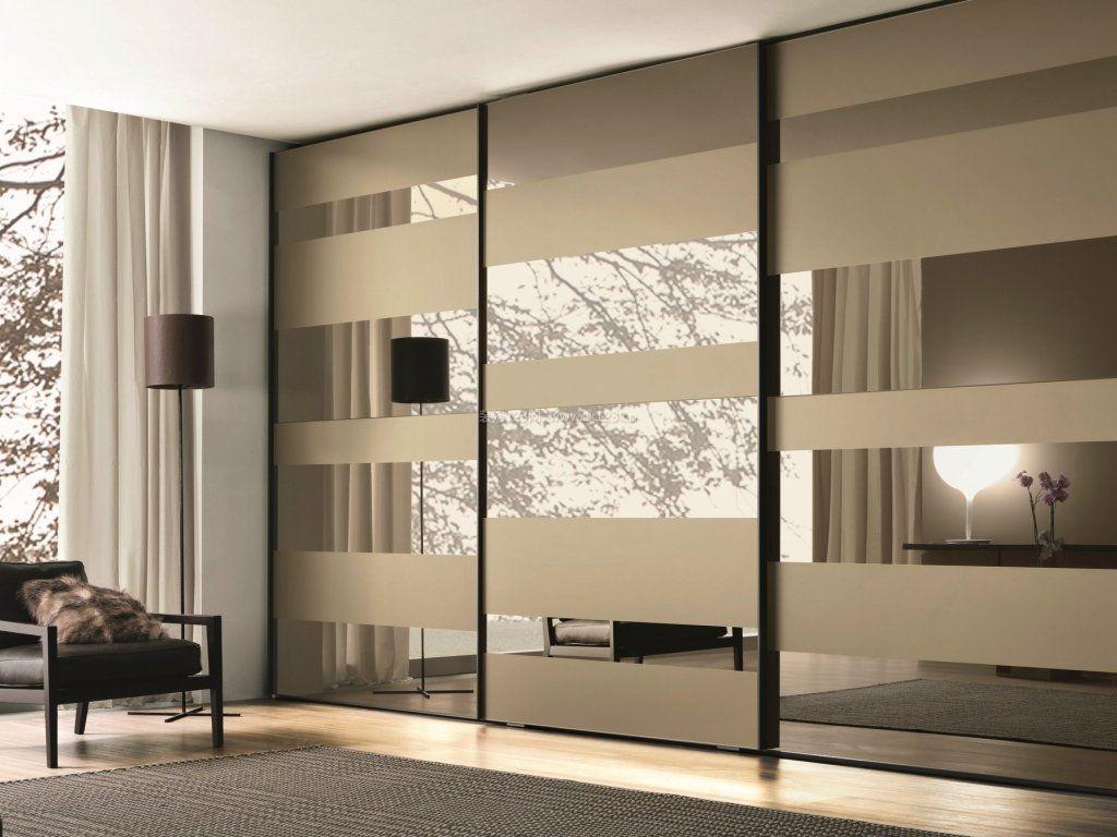 现代家装卧室衣柜玻璃门图片大全图片