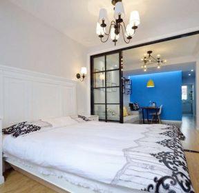 長方形客廳臥室玻璃隔斷圖片-每日推薦