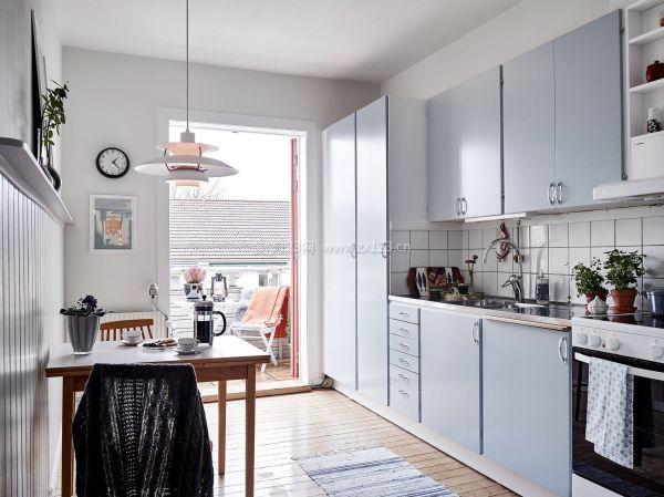 单身公寓厨房餐厅装修图片