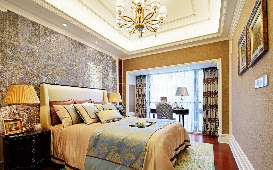 100平方欧式主卧室装修效果图大全