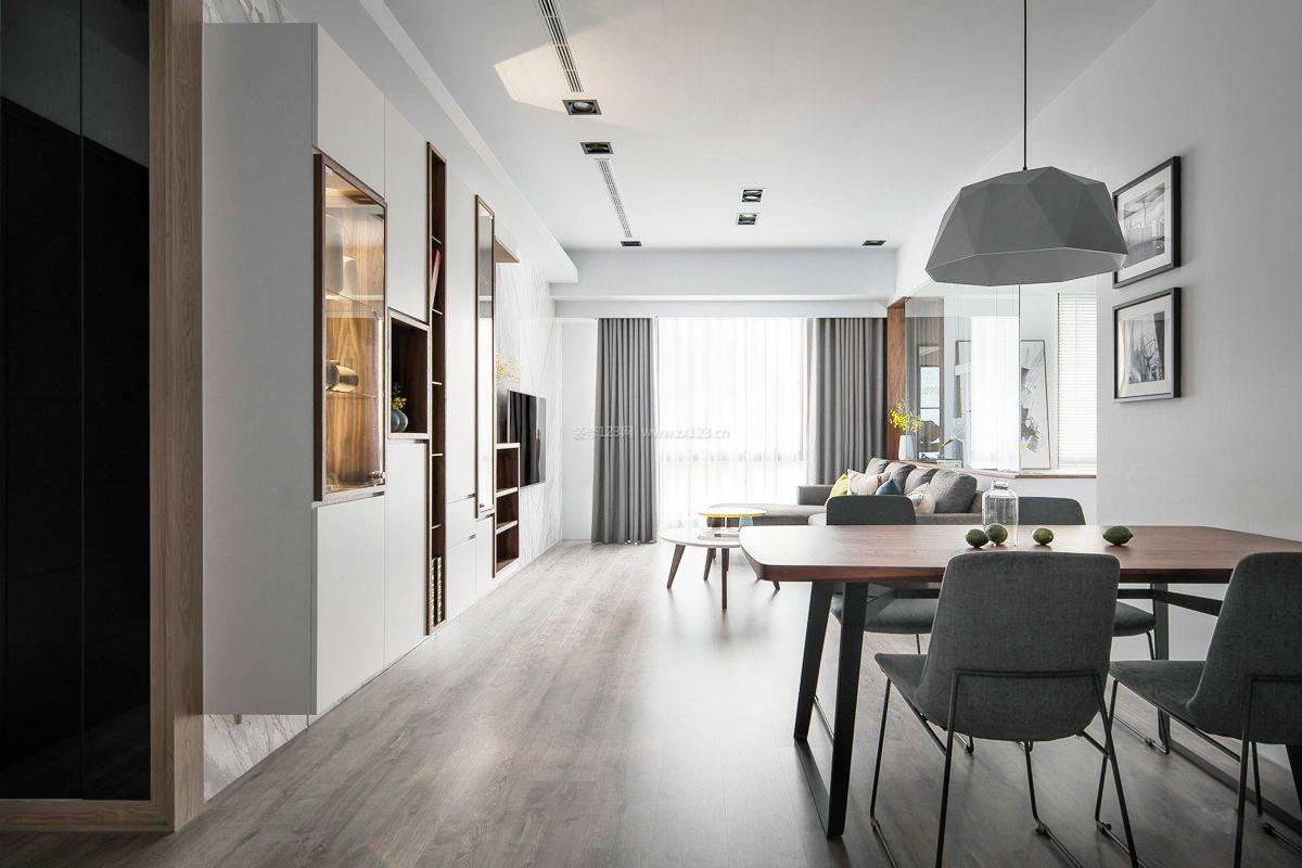 长方形公寓装修图