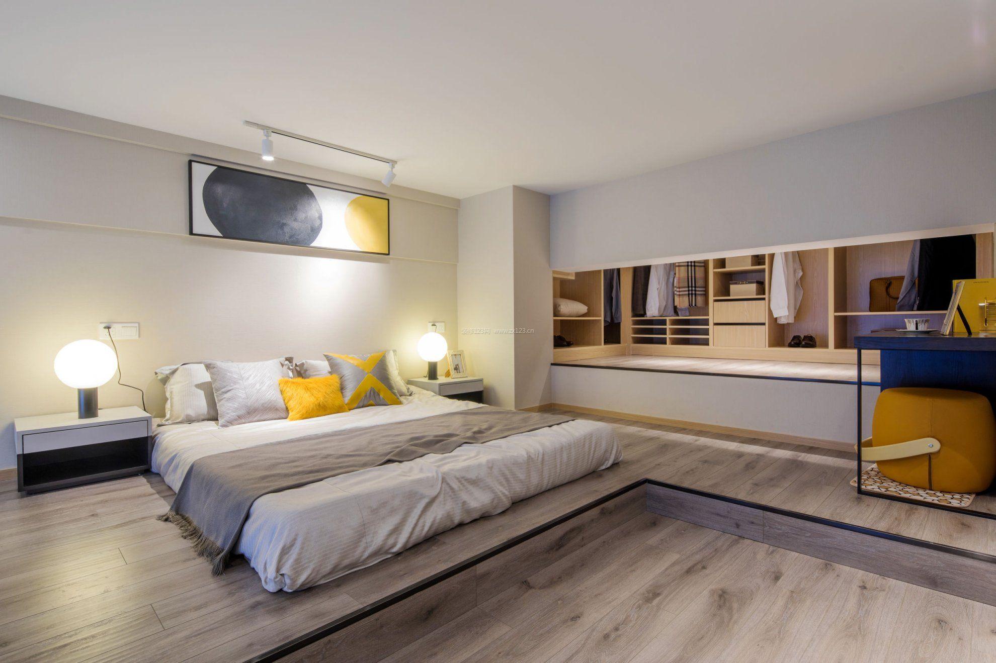 单身公寓小户型房屋卧室衣帽间平面设计图_装修123