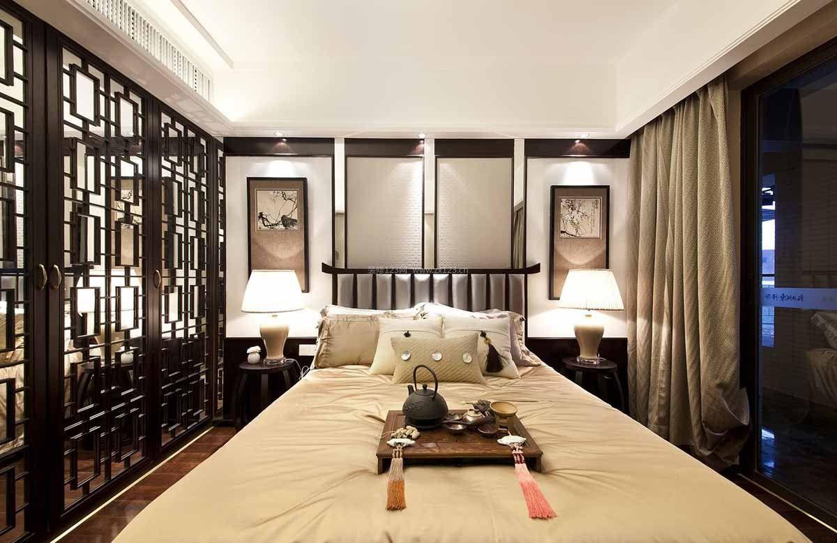中式单身公寓小户型房屋平面设计图