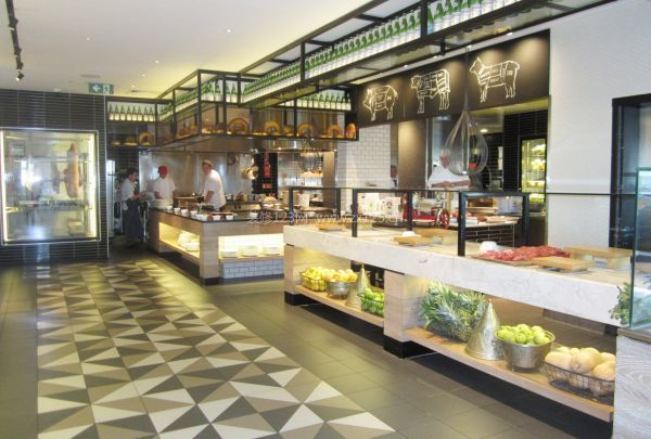 超市室内装修设计效果图