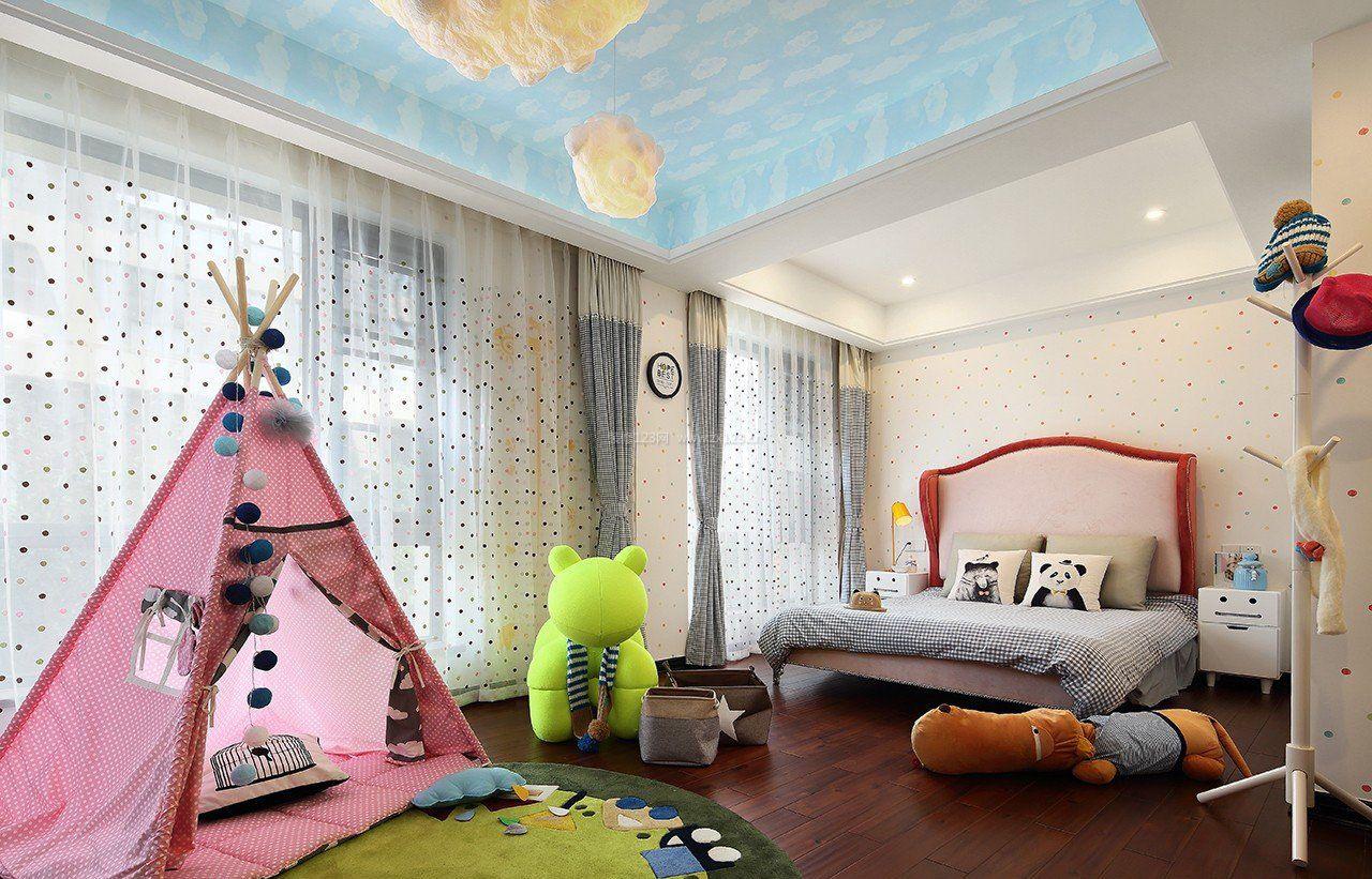 济南家庭女童房间装修效果图大全图片图片