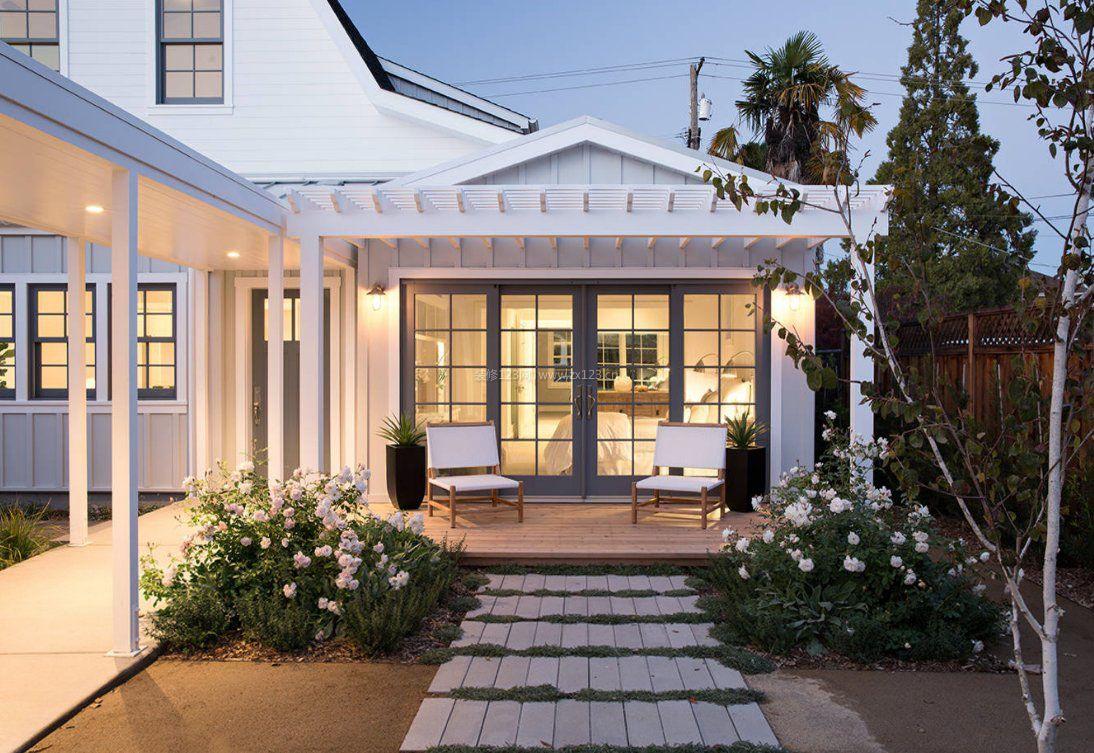 欧式小别墅设计门窗玻璃落地效果图_装修123甬路别墅图片