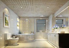 济南豪华浴室装修效果图大全图片