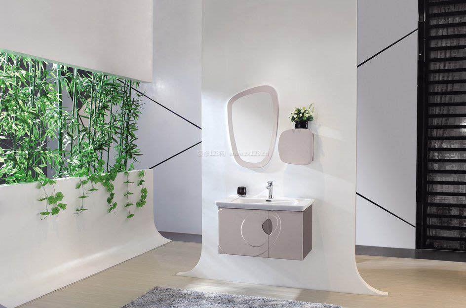 卫浴柜隔断装修图片大全