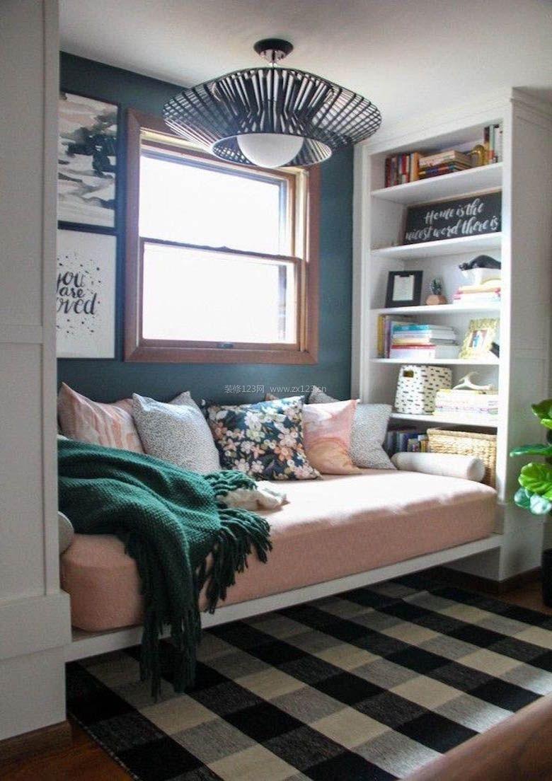 超小卧室榻榻米温馨装修效果图图片