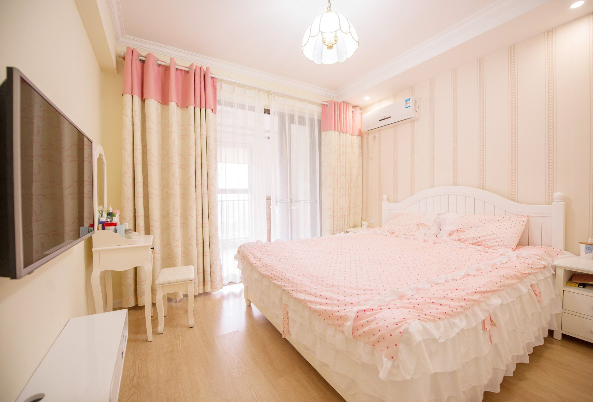 杭州房屋女生卧室装修图