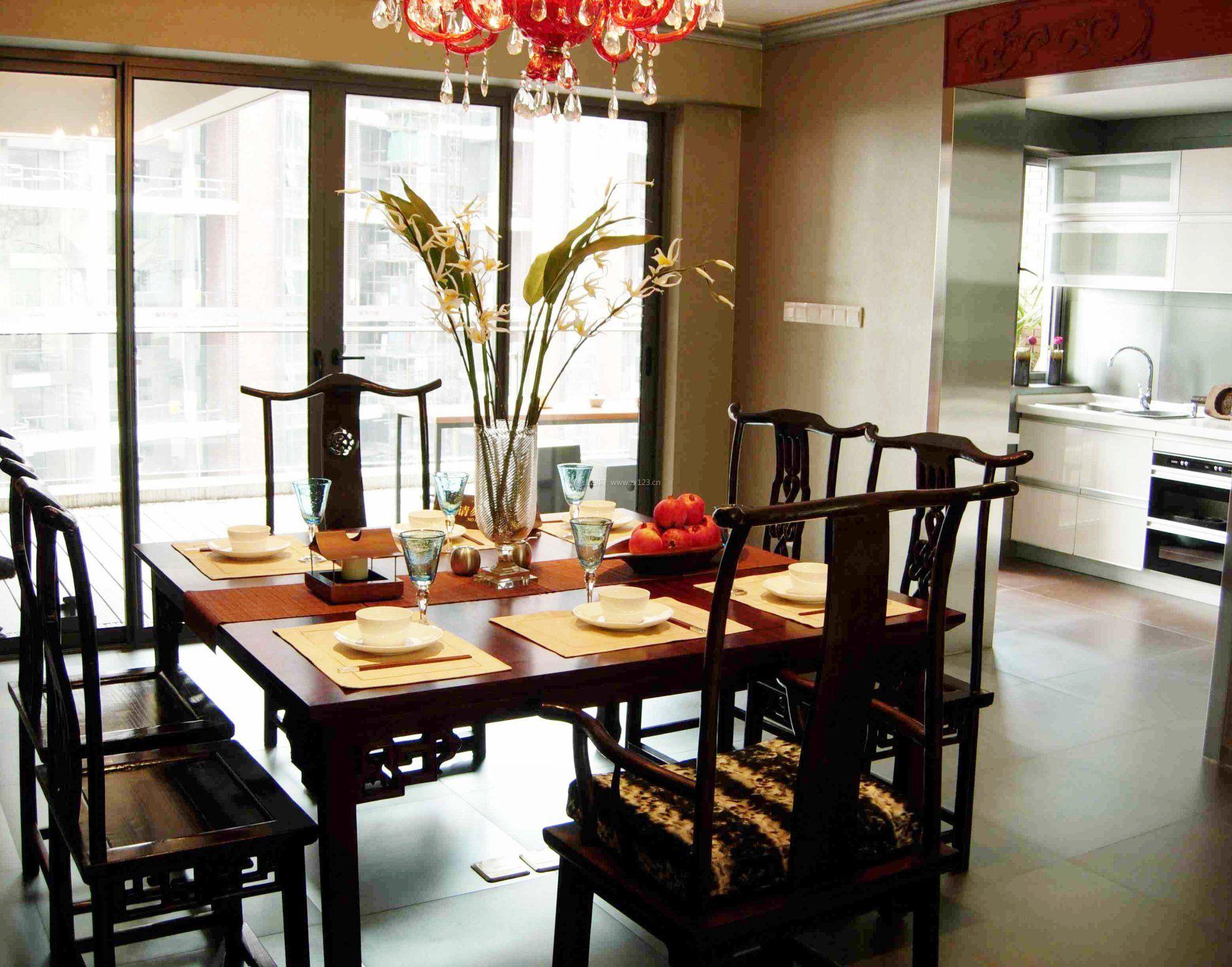 家用中式餐桌图片大全赏析