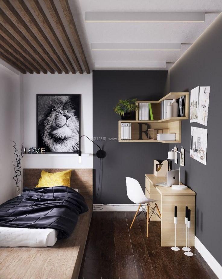 北欧风格超小卧室榻榻米装修效果图