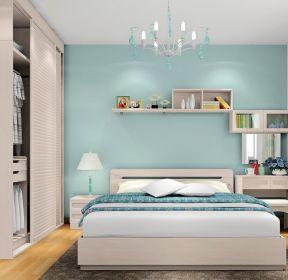 2203 2020卧室墙面漆效果图大全欣赏 1643 2020卧室墙面漆装修效果图