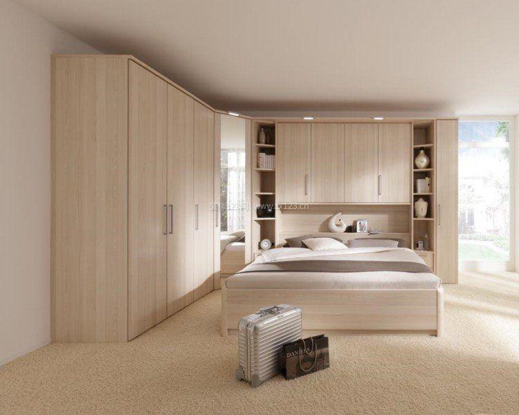 实木小卧室无吊顶装修设计效果图