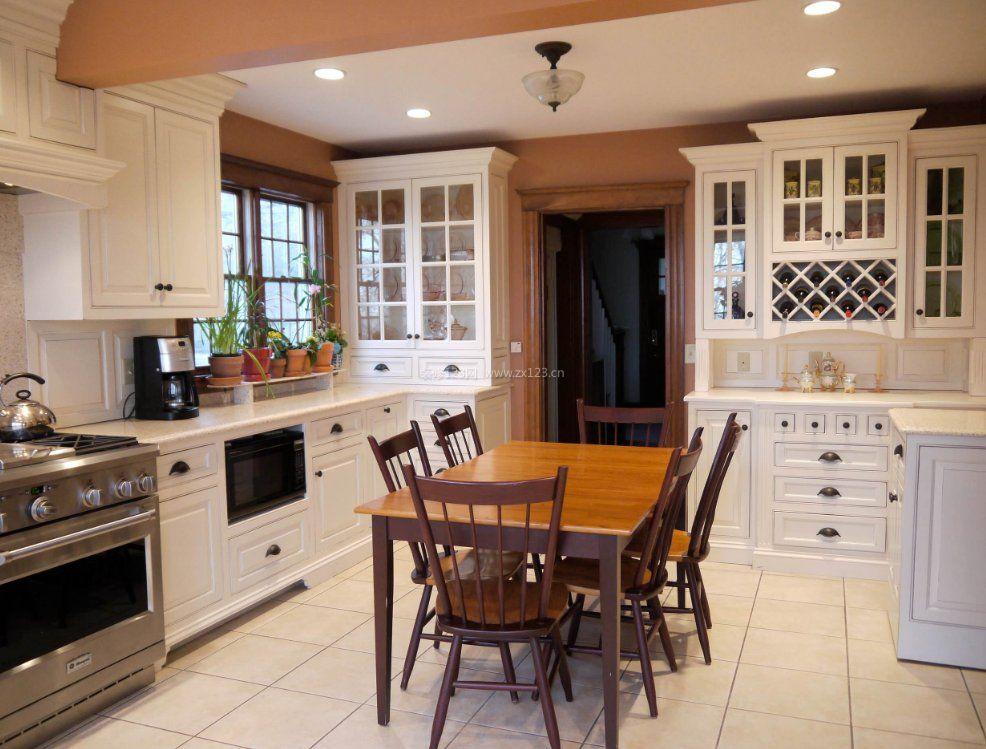 家庭厨房小酒柜造型图片_装修123效果图