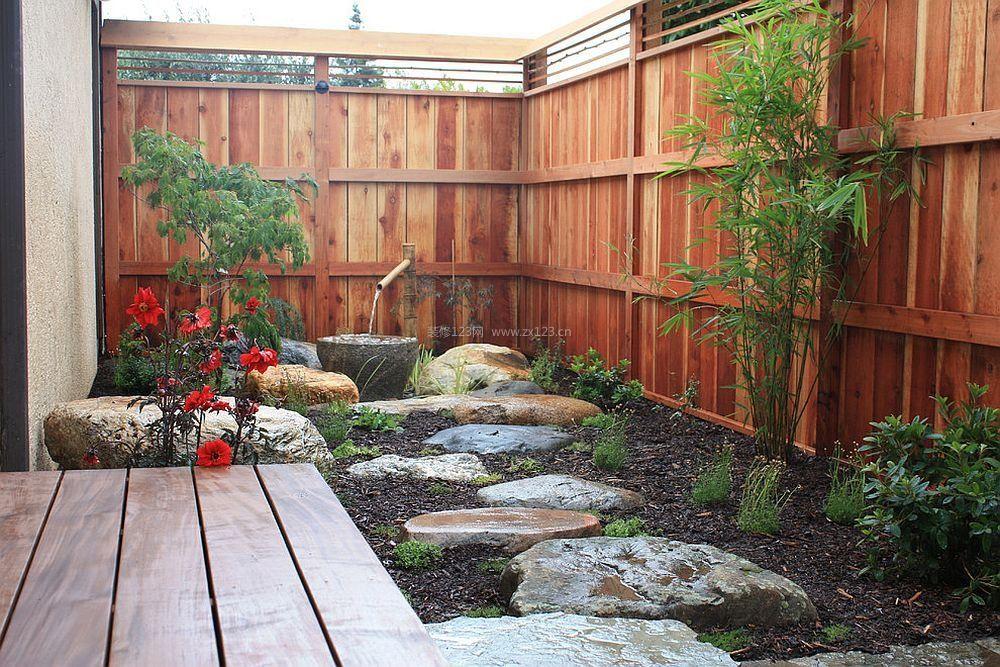 私家庭院景观小花园装修设计效果图