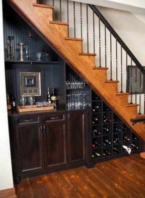 2017现代家装别墅楼梯间设计