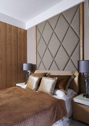 2018现代卧室床头背景墙欣赏