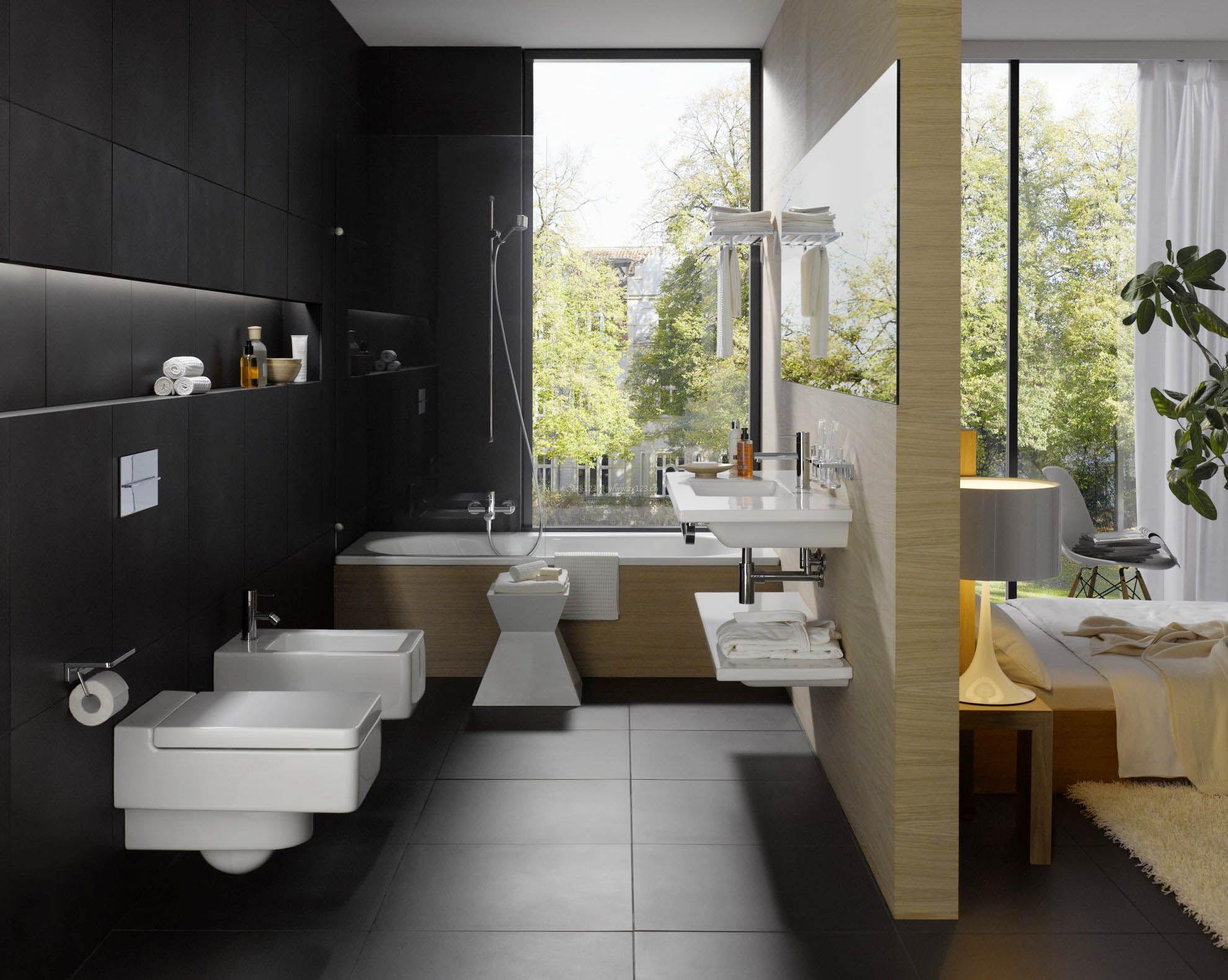 客栈卫生间设计图展示图片