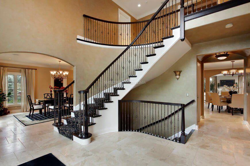 最新楼梯扶手设计图片
