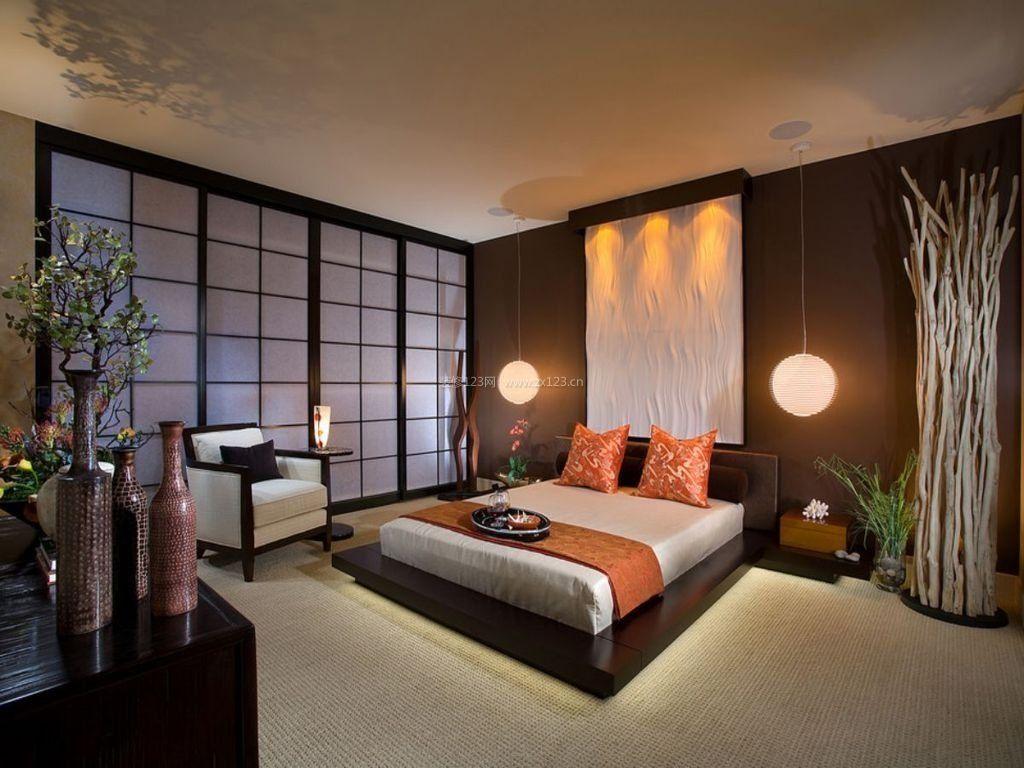 日本民居卧室床头吊灯图片大全