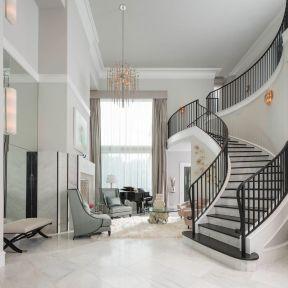 美式楼梯扶手设计