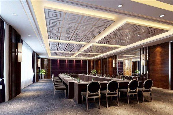 南京大型会议室装修设计方法 大型会议室如何装修图片