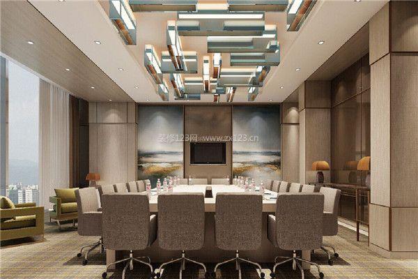 杭州小会议室装修设计方法 如何装修小型会议室图片