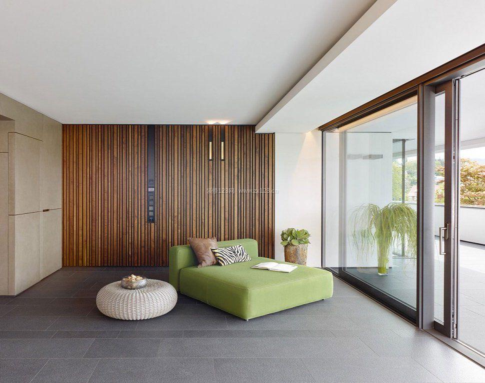 简约风格室内阳台门装修设计效果图片赏析