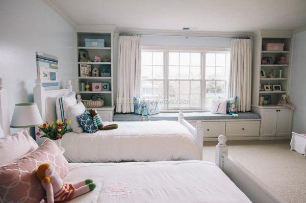 双人儿童房装修设计效果图图片