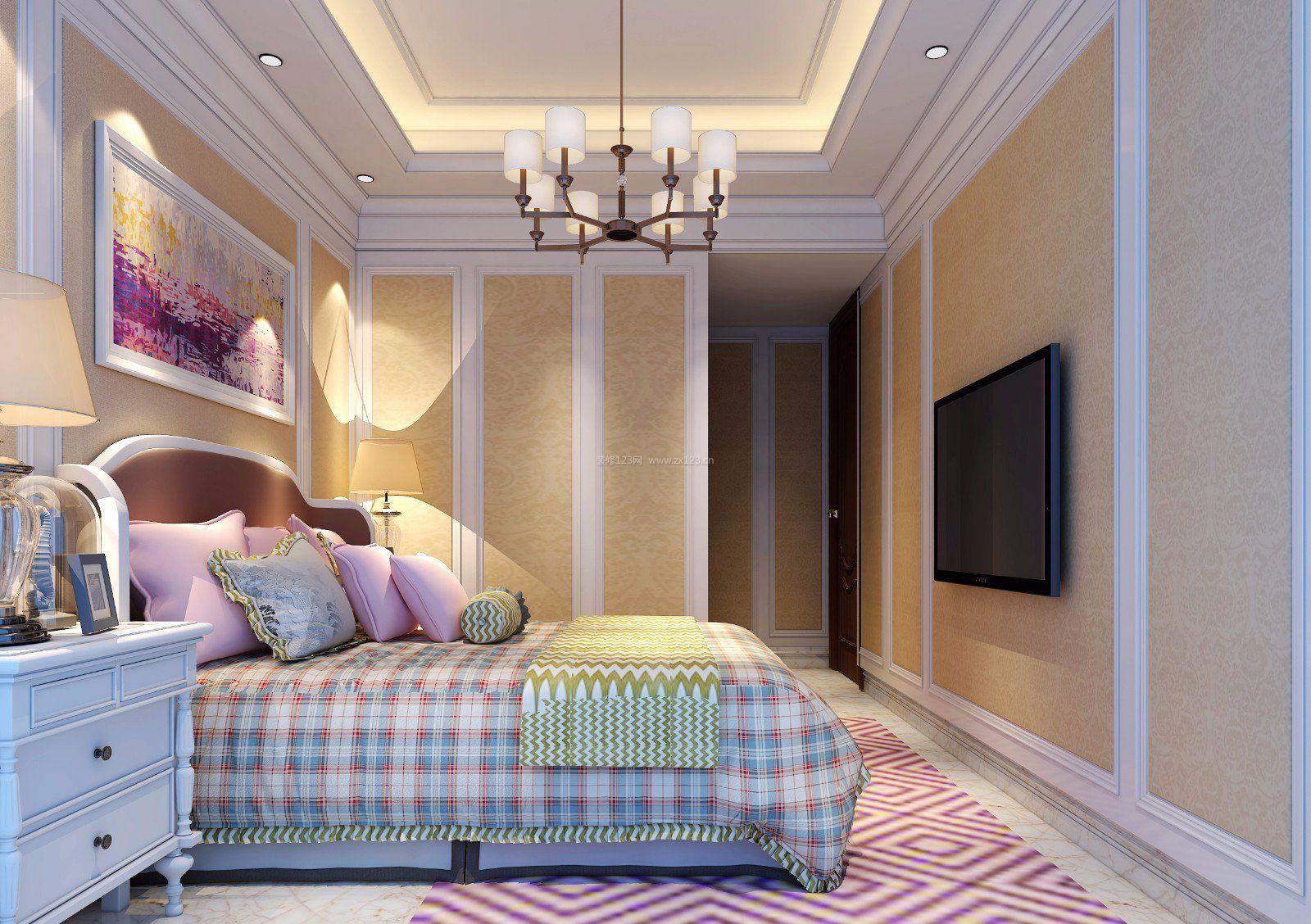 福州室内卧室壁纸装修效果图大全