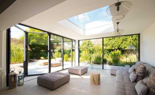 别墅门窗玻璃装修设计效果图