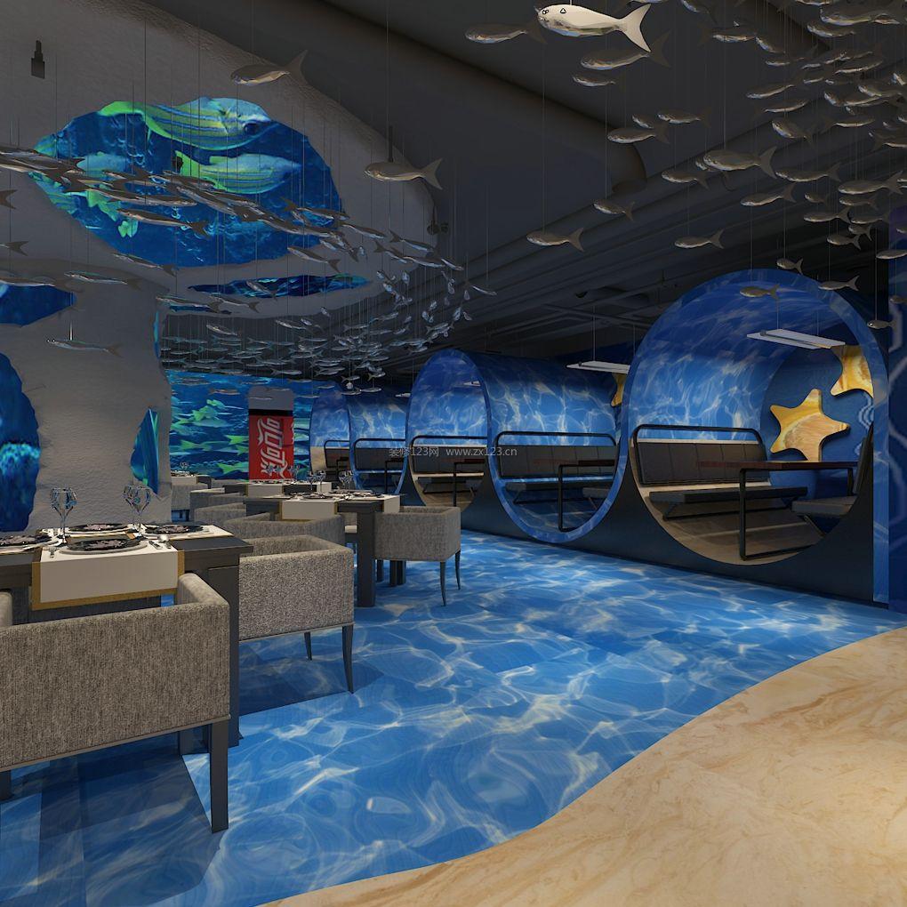 海洋主题餐厅装修项目